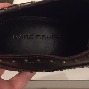Marc Fisher Shoes - Marc Fisher Bryleigh brown/oxblood loafers, Sz 7